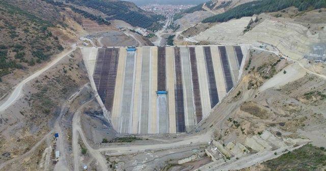 Çay Barajı'nın yüzde 70'i bitirildi