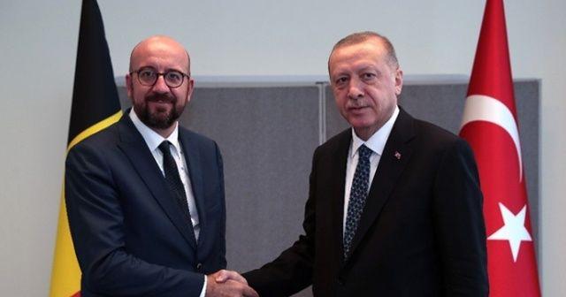 Cumhurbaşkanı Erdoğan'dan New York'ta kritik görüşme