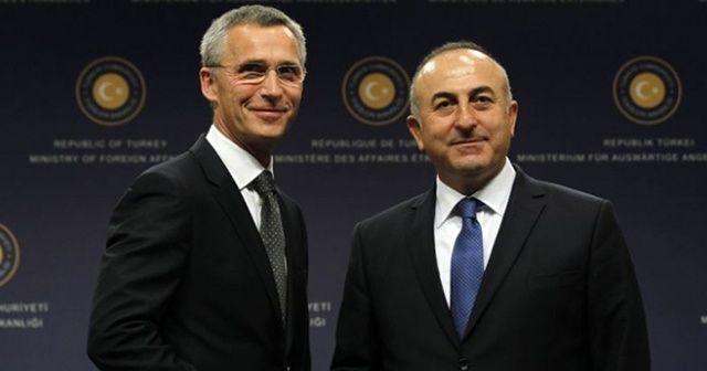 Dışişleri Bakanı Çavuşoğlu, Jens Stoltenberg ile görüştü