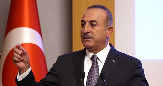 Dışişleri Bakanı Çavuşoğlu'ndan İsrail'e tepki