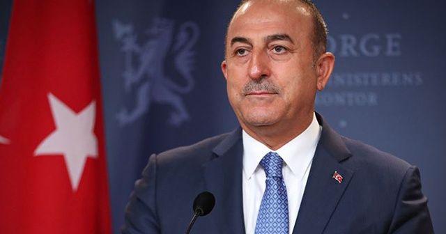 Dışişleri Bakanı Çavuşoğlu'ndan kritik açıklama