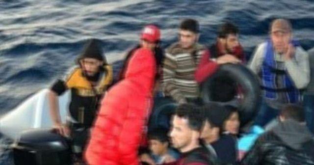Ege Denizi'nde 30 kaçak yakalandı