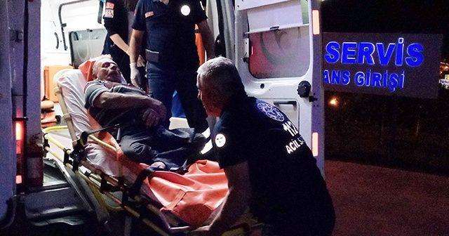 Engelli adam darp edilmiş halde bulundu