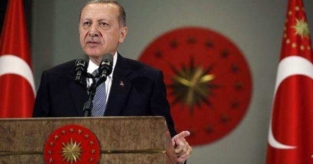 Erdoğan'dan Süleyman Turan için taziye mesajı