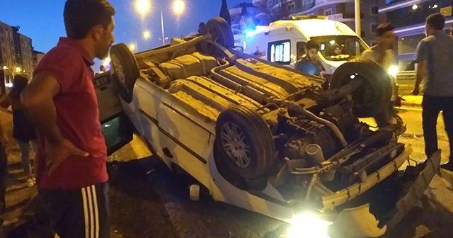 Feci kazada 3 yaşındaki çocuk araçtan fırladı!