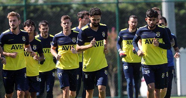 Fenerbahçe, Ankaragücü maçı hazırlıklarına başladı