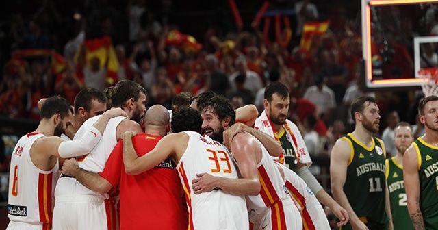 FIBA'da ilk finalist İspanya oldu