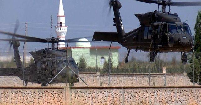 Fırat'ın doğusunda 4. ortak hava devriyesi