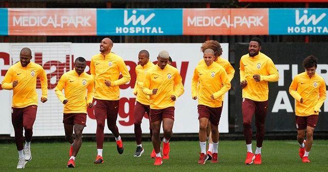 Galatasaray, BtcTurk Y.Malatyaspor maçının hazırlıklarını sürdürdü
