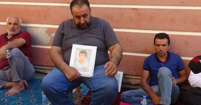 HDP önünde eylem yapan aile sayısı 44'e yükseldi
