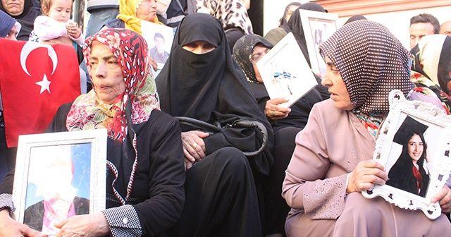 HDP önünde eylem yapan aile sayısı 46'ya yükseldi
