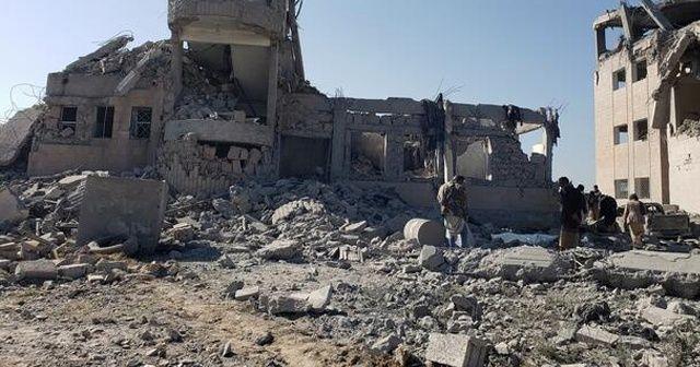Husilere ait cephanelikte patlama: 7 sivil öldü