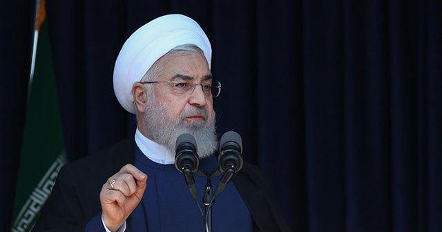 İran Cumhurbaşkanı Ruhani: Yaptırımlar devam ettiği sürece ABD ile müzakerelerin anlamı yoktur