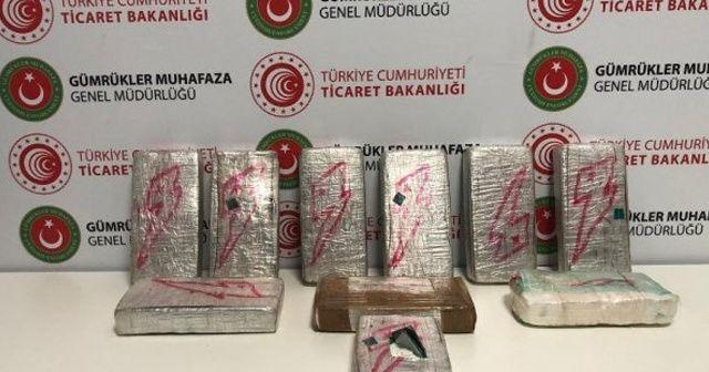 İstanbul Havalimanı'nda 13 kilogram 29 gram  kokain yakalandı