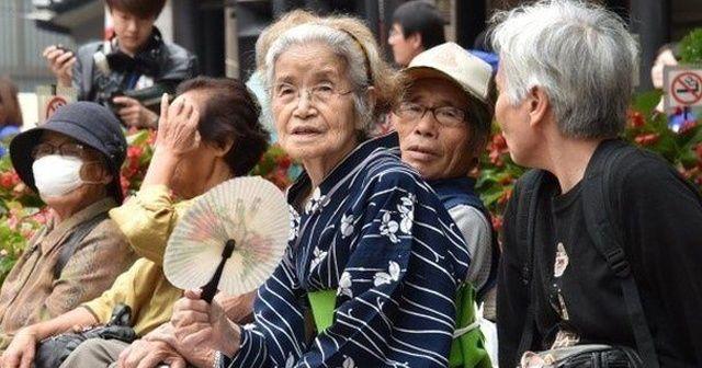 Japonya'dan yaşlı nüfus rekoru