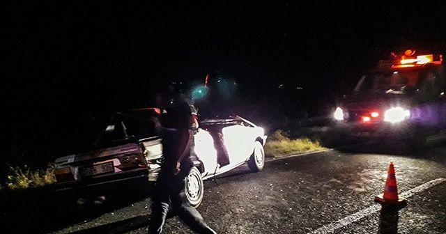 Kırklareli'nde zincirleme kaza: 2'si ağır 3 yaralı