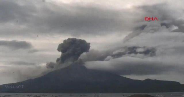 Korkulan oldu! Sakurajima yeniden harekete geçti
