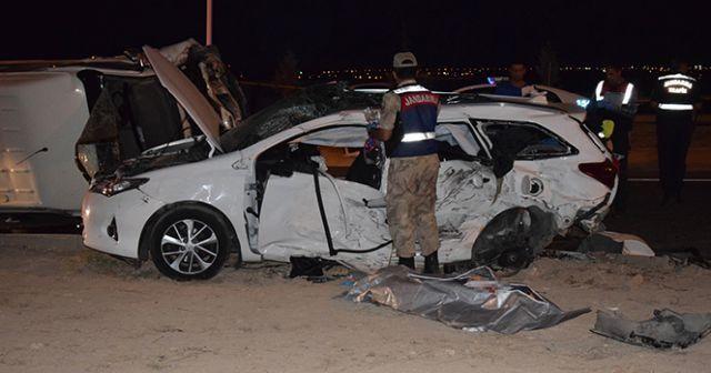 Malatya'da feci kaza