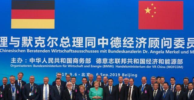 Merkel'in Çin ziyareti meyvelerini vermeye başladı