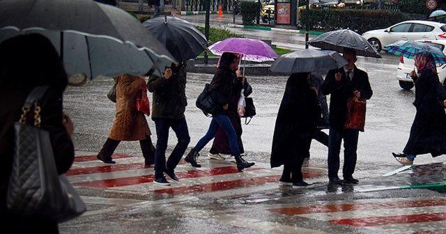 Meteorolojiden İstanbul ve 25 ile yağış uyarısı