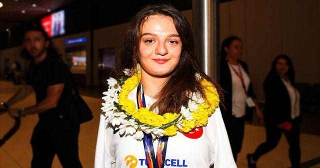 Milli sporcu Sümeyye Boyacı: Kendimi geliştirmeye devam edeceğim