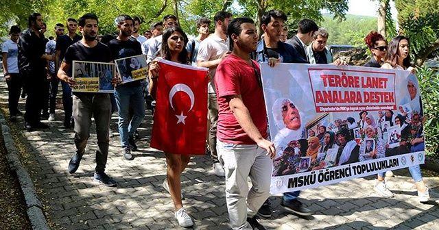 Muğla'da 'Teröre lanet, analara destek' yürüyüşü