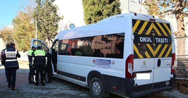 Okul servis araçlarına 5 bin TL ceza