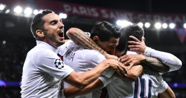 PSG, Real Madrid'i sahadan sildi