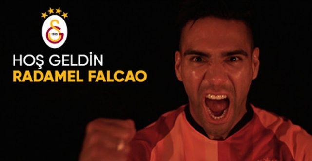 Radamel Falcao resmen Galatasaray'da