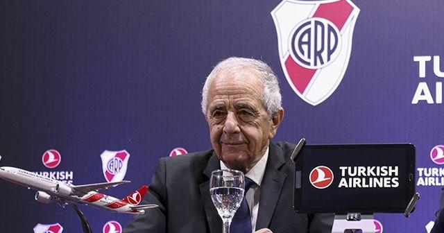 River Plate THY'nin sponsorluğuyla gurur duyuyor