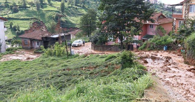 Rize'deki şiddetli yağış ile ilgili görsel sonucu