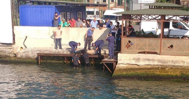 Sarıyer'de denizde erkek cesedi bulundu
