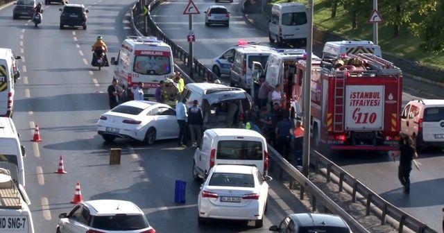 Sefaköy'de kaza: 2 yaralı