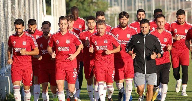 Sivasspor'da Başakşehir hazırlığı sürüyor