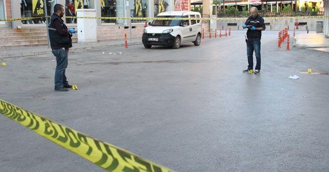 Sokak ortasında vurulmuş halde bulundu