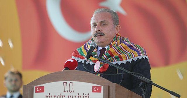 TBMM Başkanı Şentop: Türkiye düşmanları ne kadar saldırırsa saldırsın asla geri adım atmayacağız