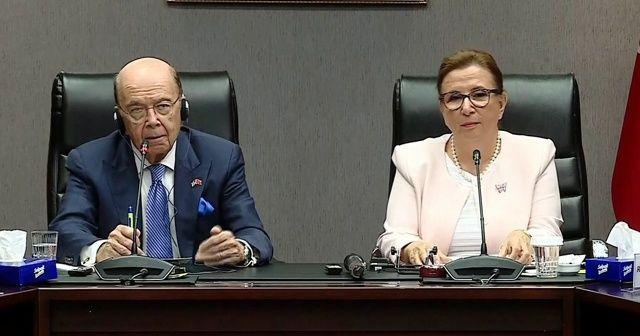 Ticaret Bakanı Pekcan: 100 milyar dolarlık hedefe ulaşmak için engeller kalkmalı