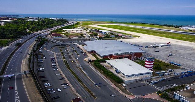 Trabzon Havalimanı'ndan 2 milyon 640 bin yolcu seyahat etti