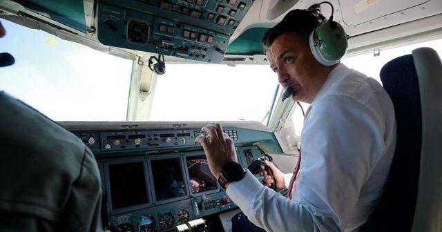 Türkiye'nin almayı planladığı uçağı Bakan Pakdemirli bizzat kendi test etti