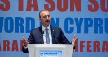 Adalet Bakanı Gül: Kıbrıs Türk halkının rezervler üzerinde hakkı vardır