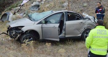 Afyonkarahisar'da feci kaza: Ölü ve ve yaralılar var