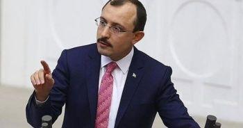 """AK Parti'li Muş: """"CHP'nin HDP'ye baston, koltuk değneği olmaktan vazgeçmesi lazım"""""""