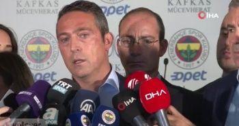 Ali Koç'tan Alanyaspor maçı açıklaması: TFF'ye başvuruyu yapacağız