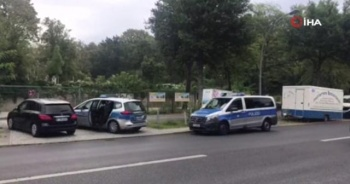 Berlin Şehitlik Cami'ne yapılan bomba ihbarı asılsız çıktı
