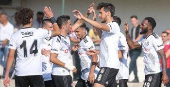 Beşiktaş'tan rahat prova
