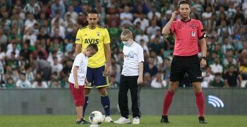Bursa'da anlamlı hazırlık maçı
