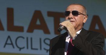 Cumhurbaşkanı Erdoğan'dan ABD'ye güvenli bölge tepkisi