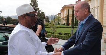 Cumhurbaşkanı Erdoğan ile Mali Cumhurbaşkanı Keita bir araya geldi