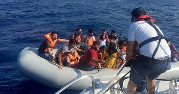 Datça'da 28 göçmen yakalandı