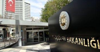 Dışişleri Bakanlığından Yunanistan'daki ırkçı saldırıya tepki